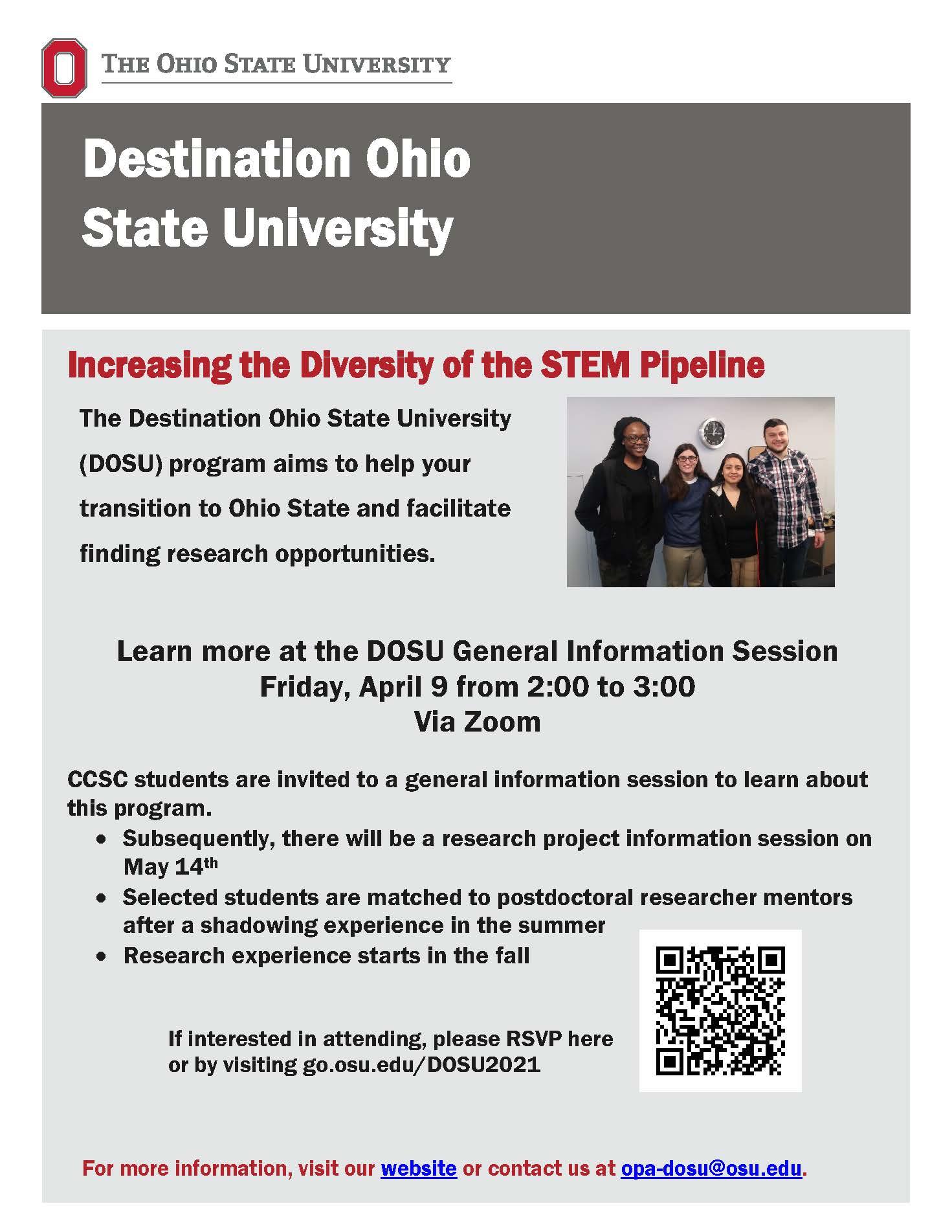 Osu Academic Calendar 2022.Destination Osu Event Set For April 9 Columbus State Community College