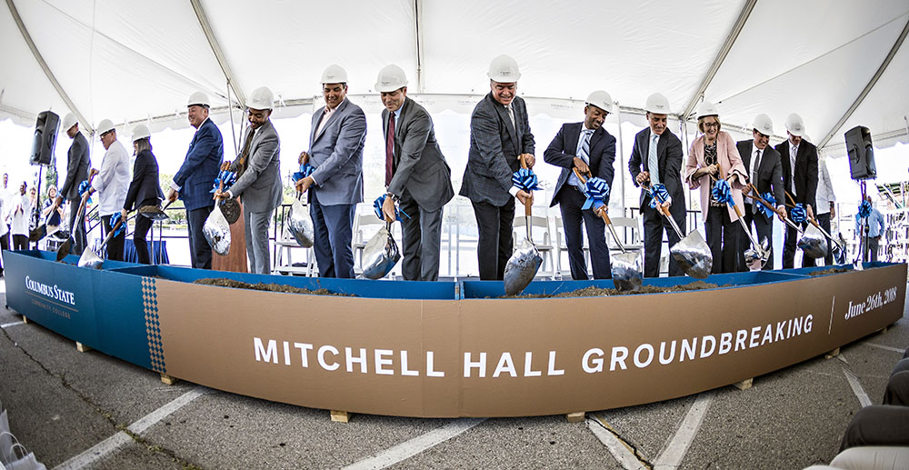 Mitchell Hall Groundbreaking