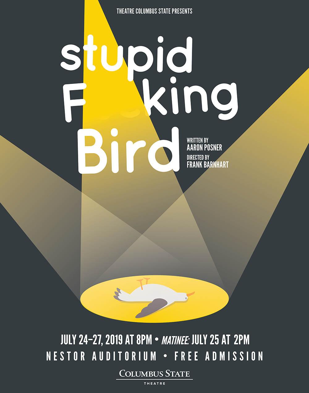 Stupid Bird poster