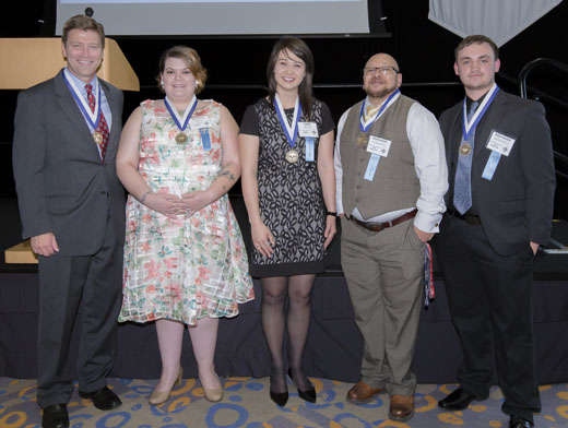 Society of the Compass honorees 2016