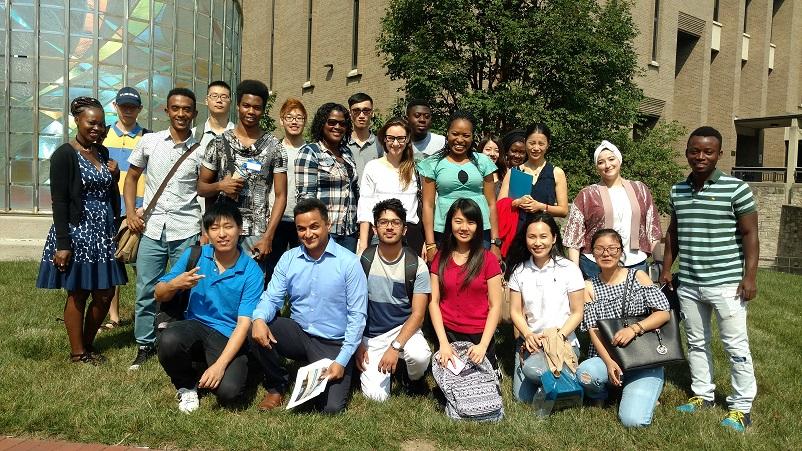 International students at CSCC