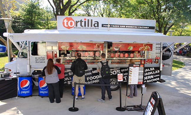 Tortilla Food Truck Columbus State Community College