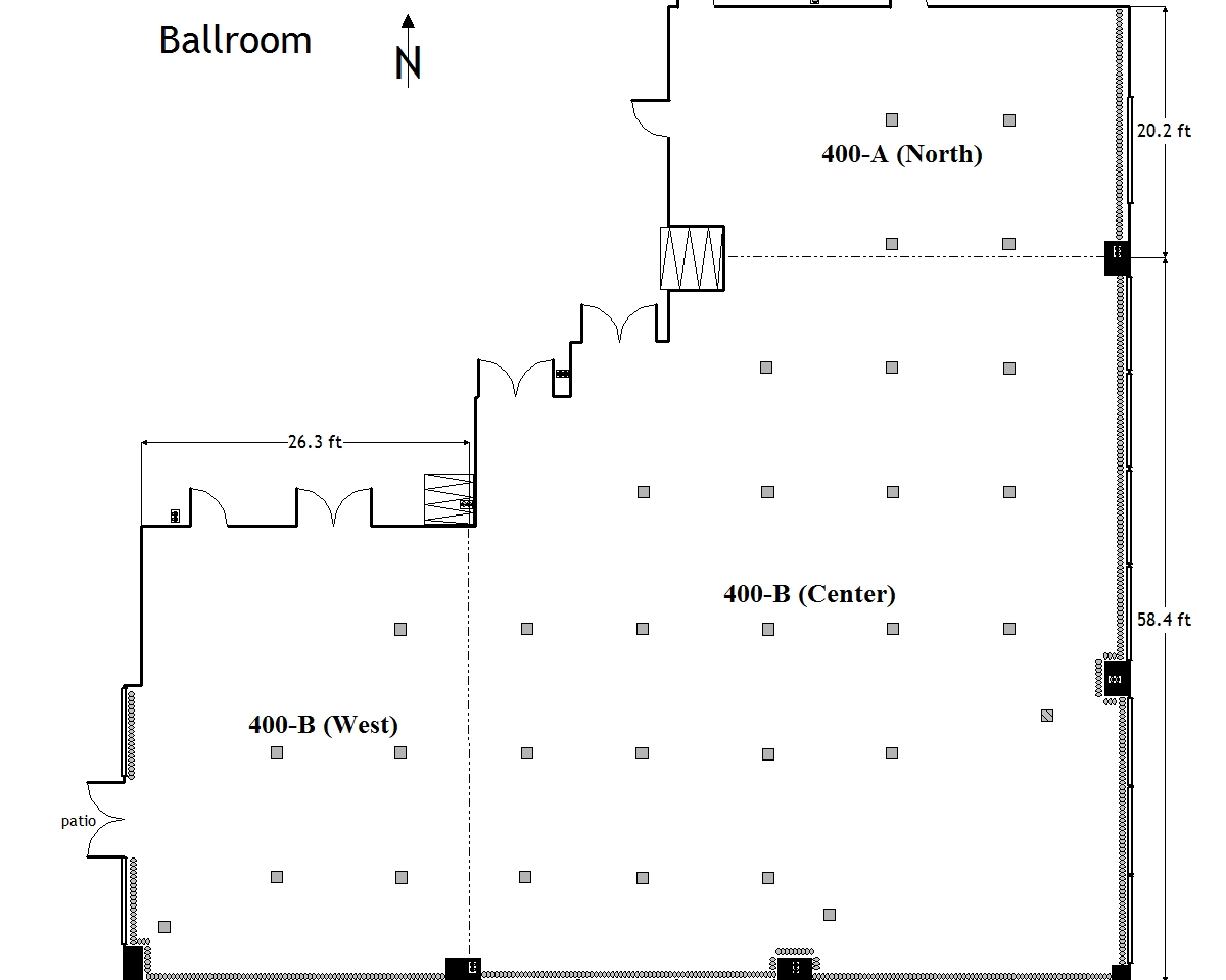 435 Entire Room Diagram