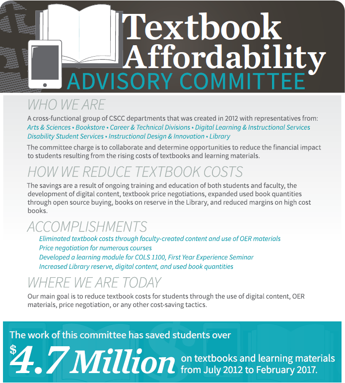 Textbook Affordability Advisory Committee