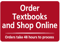 Order textbooks and shop online
